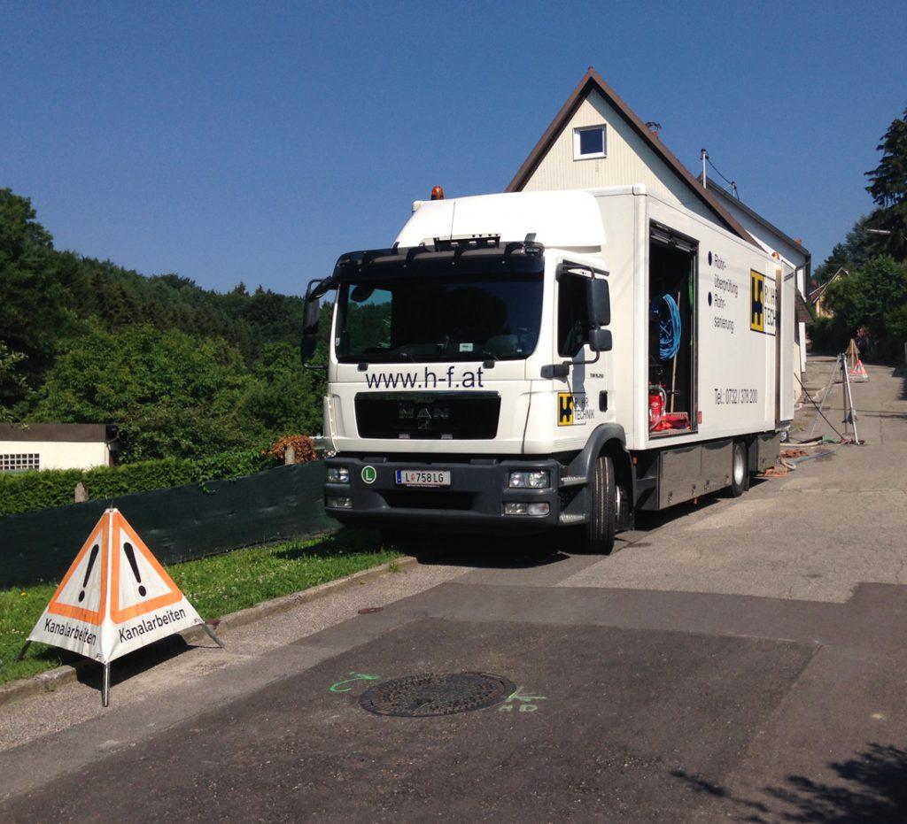 Linz AG, ARGE Kanalsanierung WSG Heilham 2015-2018
